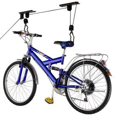 Kerékpártároló fregoli rendszerű kerékpár lift
