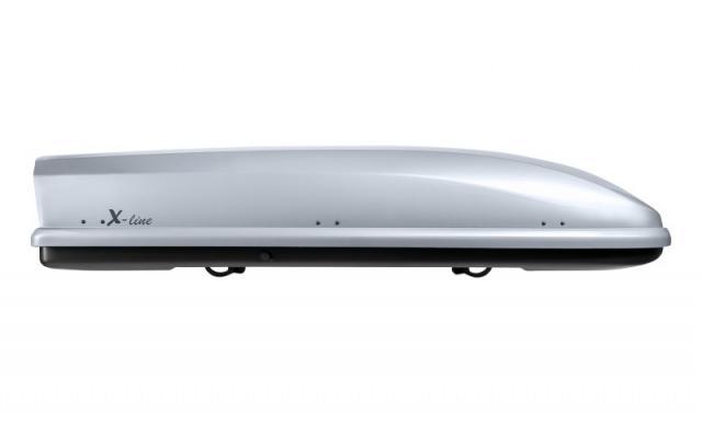 NEUMANN Whale X Line ezüst tetőbox