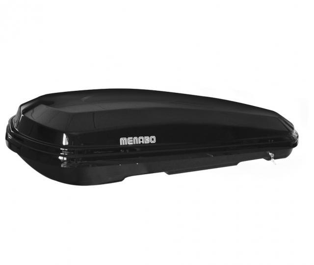 Menabo DIAMOND DUO 450 Black tetőbox