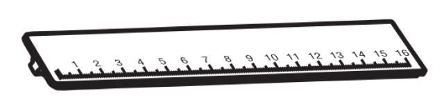 700009100000 Menabo alkatrész TEMA tetőcsomagtartó méretbeállító betét