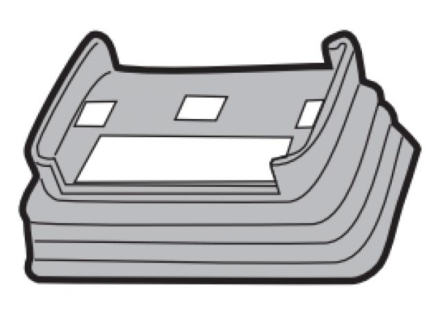 700009300000 Menabo alkatrész TEMA FIX tetőcsomagtartó gumiharmonika
