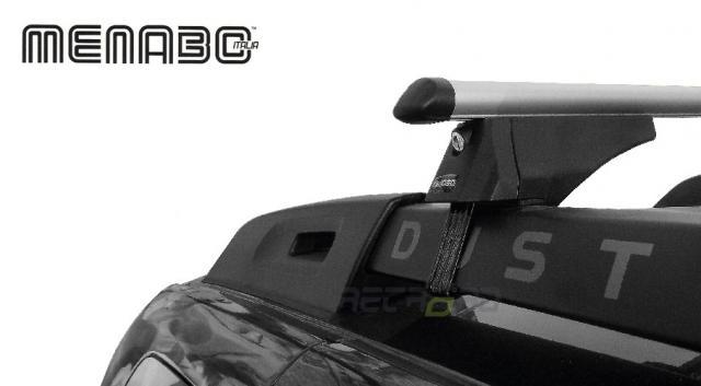 Menabo ALFA High Profile L tetőcsomagtartó tetőkorlátos autóra