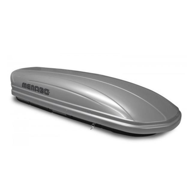 Menabo MANIA 460 silver tetőbox