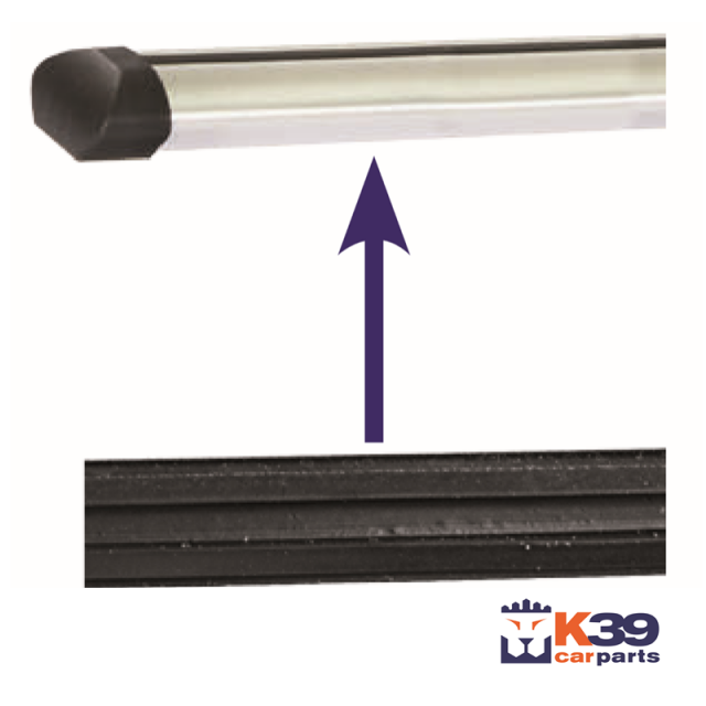 K39 tetőcsomagtartó alsó tömítő gumiszalag
