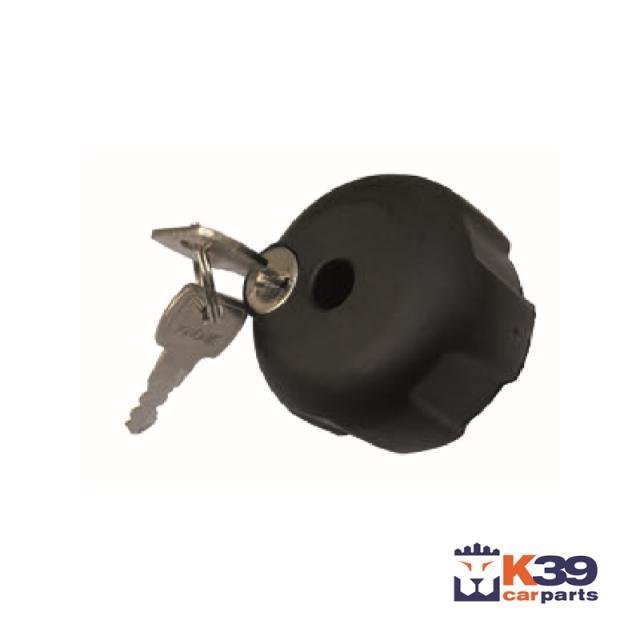 K39 zárható tekerőgomb kerékpártartóhoz